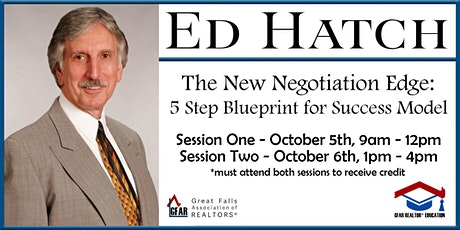 Education Course - The New Negotiation Edge tickets