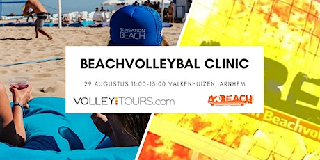 Volleytours beachvolleybal clinic tijdens Aetos Outdoor Openingstoernooi tickets