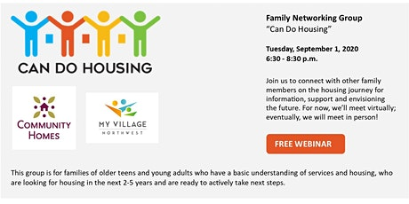 Family Networking Group - Can Do Housing tickets