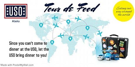 USO Drive-Thru; Tour de Food tickets