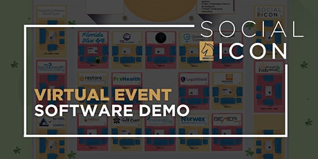 Virtual Event Software Demo + Q&A w/ Social ICON tickets