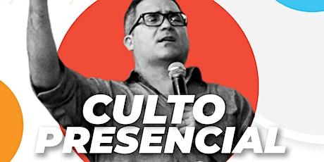Culto Presencial - Domingo (noite) 09/08/2020 ingressos