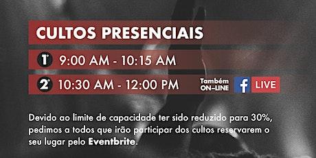 Santa Ceia - Segundo Culto I 10:30 AM tickets