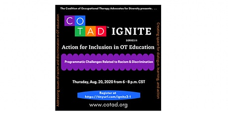 Action for Inclusion in OT Education: Programmatic Challenges tickets