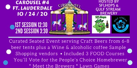 Curated Craft Carousel Beer Festival #4 - FTL tickets