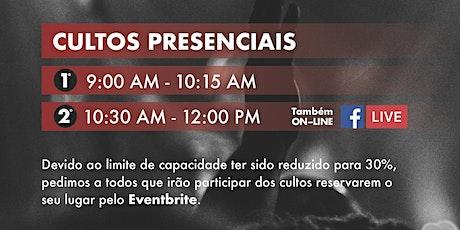 TRINITY Primeiro Culto I 9:00 AM tickets
