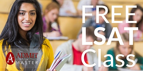 Free LSAT & Law School Admissions Workshop (Live Online) tickets