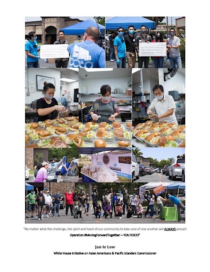Operation #MovingForwardTogether Food Distribution VOLUNTEER SIGN-UP image