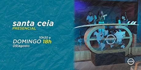 CULTO DOMINGO - 09/08/2020 ingressos