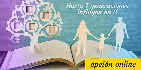 Taller Internacional de Psicogenealogía:  sanar conflictos familiaresONLINE