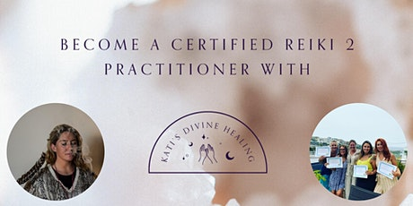 Become a certified Reiki 2 practitioner tickets