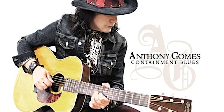 Anthony Gomes Live at Brauer House - Intimate Setting show! tickets