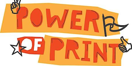 """Power of Print"" MAPC Remote Symposium 2020 tickets"