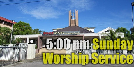 5:00 pm SUNDAY WORSHIP SERVICE tickets