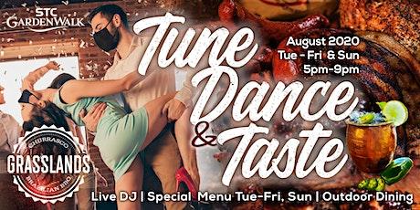 Tune, Dance & Taste tickets
