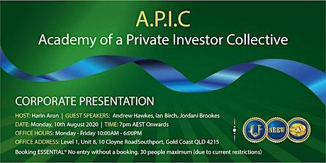 NEEW Australia Headquarters Corporate Presentation tickets
