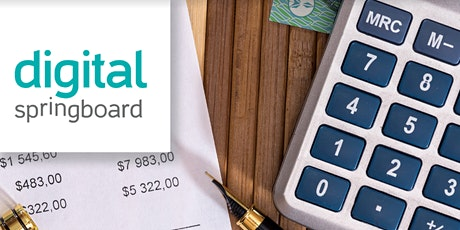 Digital Springboard - Tools and Tips to Keep Your Budget on Track tickets