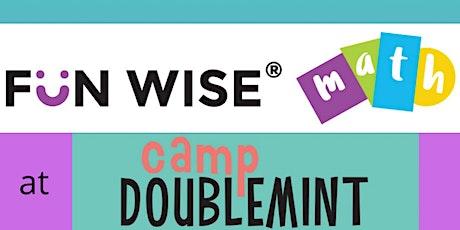 Fun Wise® Math at Camp Doublemint Preschool tickets