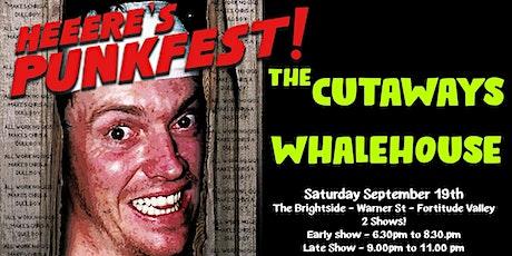 The Cutaways & Whalehouse tickets
