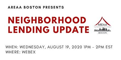 AREAA Boston presents Neighborhood Lending Update with Bank of America tickets