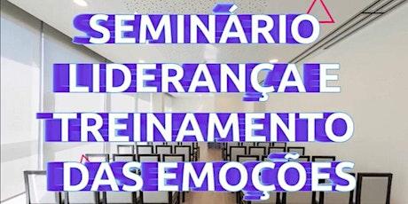 LIDERANÇA E TREINAMENTO DAS EMOÇÕES-GRUPO 2 bilhetes