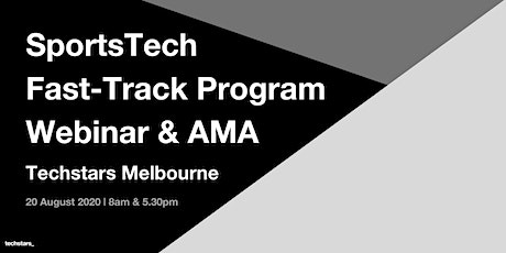 Techstars SportsTech Melbourne AMA with Todd Deacon & Damian Png tickets