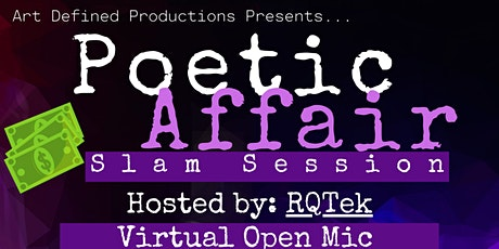 Poetic Affair Slam Poetry tickets