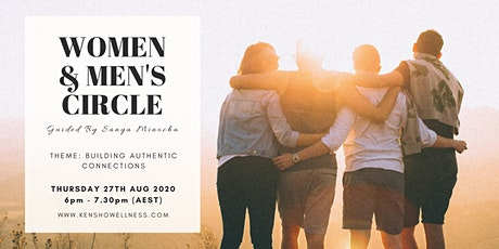 Women & Men's Circle - Building Authentic Connections tickets