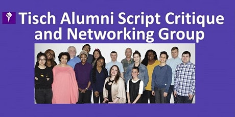 9/3/2020 Meeting of the Tisch Alumni Script Critique and Networking Group tickets