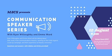 MACS Communications Speaker Series - with Ryan Willoughby and Emma Ward tickets