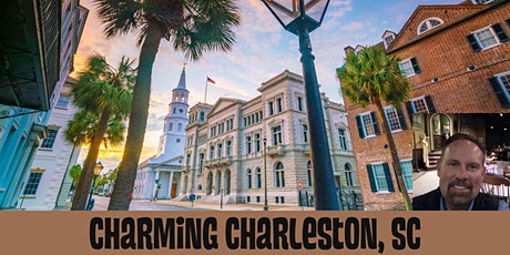Charming Charleston, South Carolina - LIVE VIRTUAL TOUR tickets