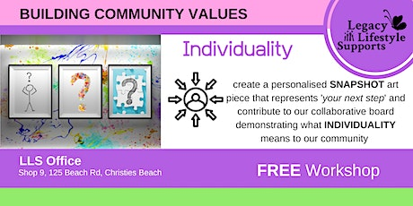 Building Community  Values ... Individuality Workshop tickets