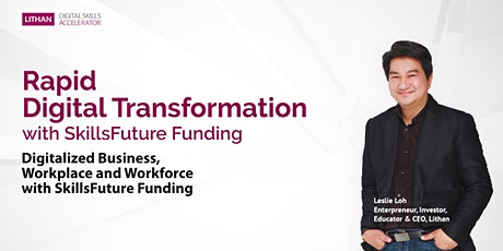 Rapid Digital Transformation with SkillsFuture Funding tickets