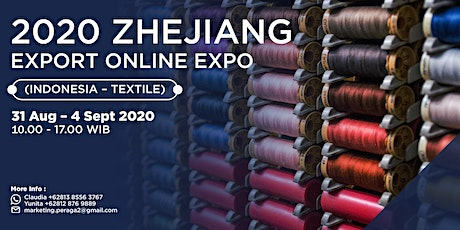 2020 Zhejiang Export Online Expo (Indonesia-Textile) tickets