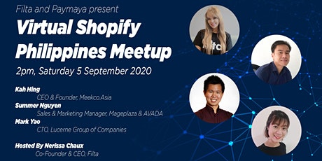 Virtual Shopify Philippines Meetup: Secrets to Power Your Online Store tickets