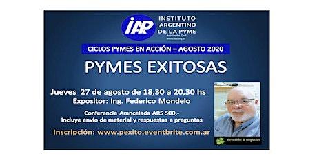 Pymes Exitosas entradas