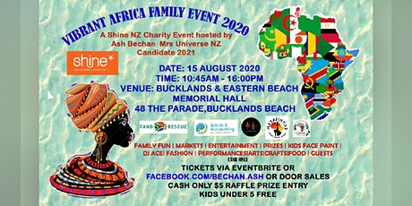 Vibrant Africa Family Event 2020 tickets