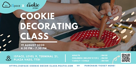 Cookie Decorating Class by iSpace KL tickets