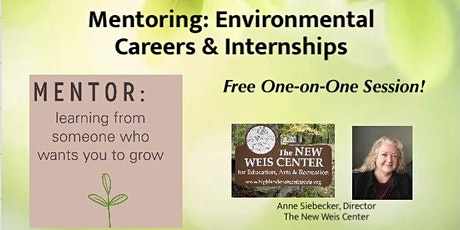 Environmental Mentoring: Careers & Internships tickets