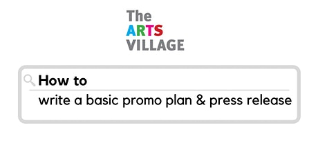 How to write a basic promo plan & press release tickets
