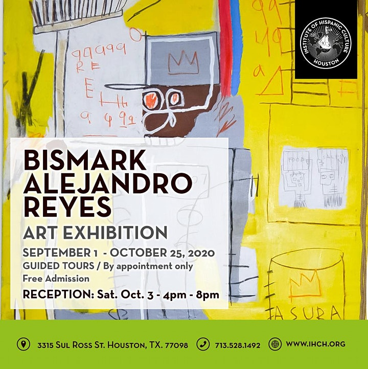 Bismark Alejandro Reyes Art Exhibition image