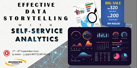 Effective Data Storytelling with Self-Service Analytics tickets