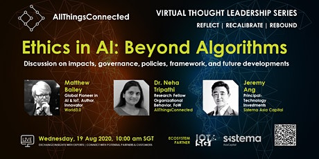 Ethics in AI: Beyond Algorithms tickets