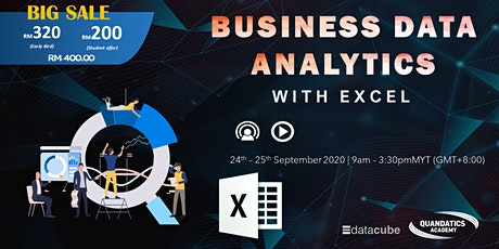 Business Data Analytics with Excel tickets