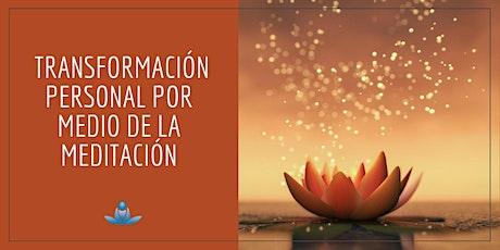 Transformación personal por medio de la meditación entradas