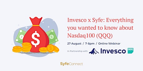 Invesco x Syfe: Everything you wanted to know about Nasdaq (QQQ) tickets
