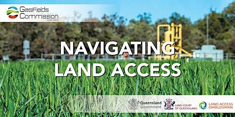 Navigating Land Access Webinar tickets