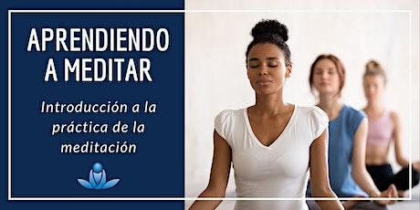 Aprendiendo a meditar - Introducción a la práctica de la meditación boletos