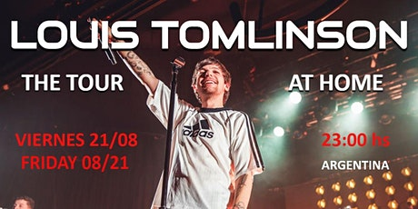 Louis Tomlinson: The tour at home tickets