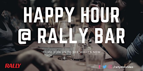 Happy Hour at Rally Bar tickets